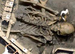 Giant Skeleton of GHATOTHKACH