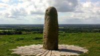 Stone of Destiny on Hill of Tara in Ireland (Ancient Siva Lingam)