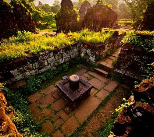 MySon Sanctuary, 4th Century Temples of Siva, Krishna, Vishnu in Vietnam