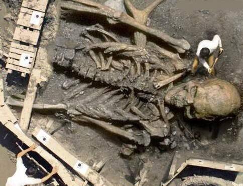 ghatothkach skeleton