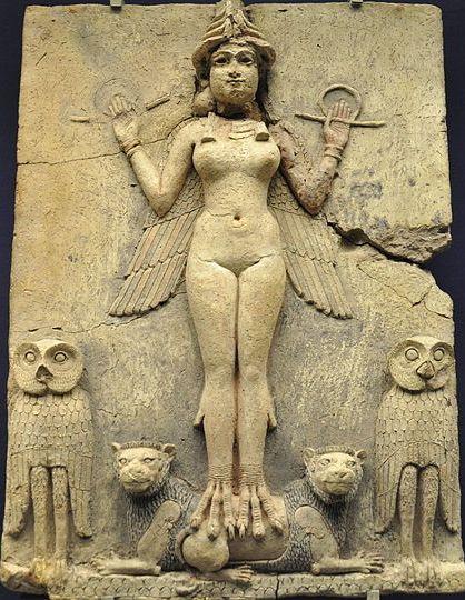 Ereshkigal or Ishtar
