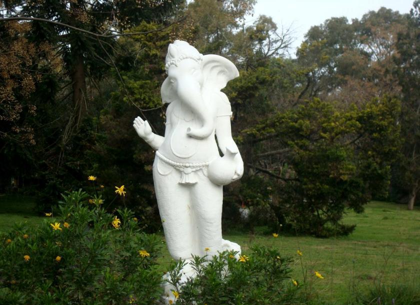 Hastinapura Argentina Ganesha Idol in Garden