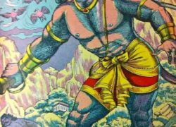 Hanuman travelled to Patala Loka (South America) through a Tunnel !