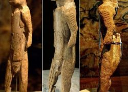 40000 years old Narasimha Idol found in Hohlenstein-Stadel, Germany