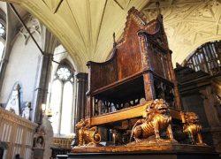 British Coronation Throne is a Vedic Simhasana
