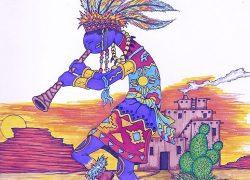 Kokopelli God of Mischief similar to Lord Krishna