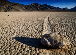 Sailing Stones in Racetrack Playa, California