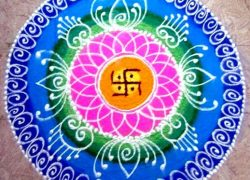 Rangoli, Visible Cymatics & Inaudible Mantras