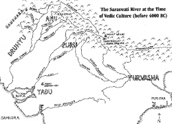 Tracing the lost, dried River Saraswati