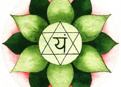 Jewish Star of David symbol is Vedic Anahata (Heart) Chakra