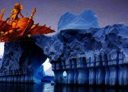 Antarctica Gateway to Hell described in Uttara Ramayana