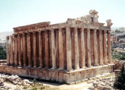 Baalbek Monuments in Lebanon