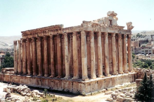 Baalbek Monuments in Lebanon