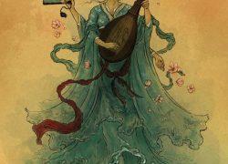 Japanese Goddess Benzaiten is Saraswati