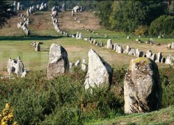 The Alignments of Carnac Stones, France