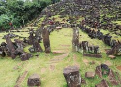 9000 years old Gunung Padang megalithic site in Indonesia