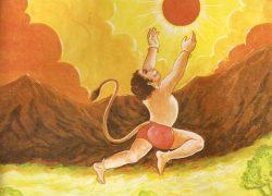 Hanuman Chalisa calculates distance between Sun & Earth