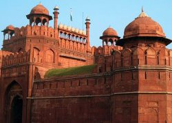 Red Fort in Delhi was originally built by Raja Anangpal Tomar in 1060 AD