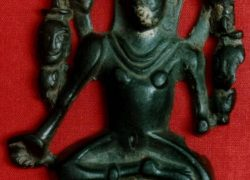 7th Century Goddess Kali Idol found in Staraya Maina Village, Russia