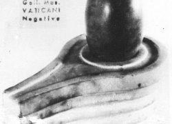 Shiva Linga at Gregorian Etruscan Museum Vatican City (Vatika)