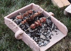 Souvlaki Trays, Ancient Portable Grills used by Greeks