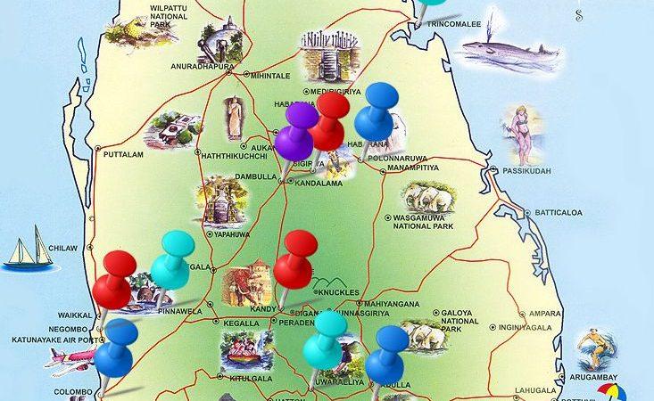 Ramayana sites in Sri Lanka