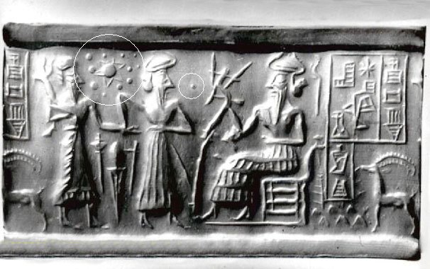 Sumerian Civilization knew about Solar System