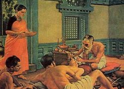 Plastic Surgery (Rhinoplasty) in Sushrutha Samhitha (6th century BCE)