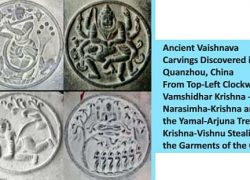 Krishna, Vishnu and Mahabharat influence on Ancient China