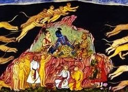 Black Cave Wormhole in Ramayana used as Transportation System across Space and Time