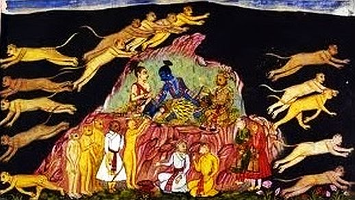 Black Cave Wormhole in Ramayana used as Transportation