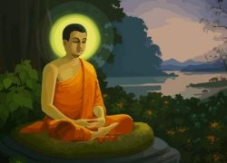 Gautama Buddha Year of Birth is 1887 BCE