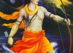 Rama created Thar Desert in Rajasthan
