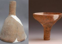 5000 Years Old Ancient China Beer Mijaya Funnel found