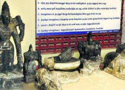 Many Smuggled Stone Idols found in Tamil Nadu