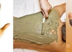 Medicinal Clay Band Preparation, Usage on Skin