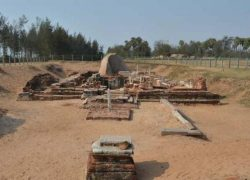 300 BCE Subrahmanya Temple at Saluvankuppam Unearthed