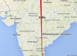 Ancient Siva Temples (Kedarnath to Rameswaram) on Straight Line