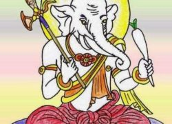 Lord Ganesha is Kangiten in Japan