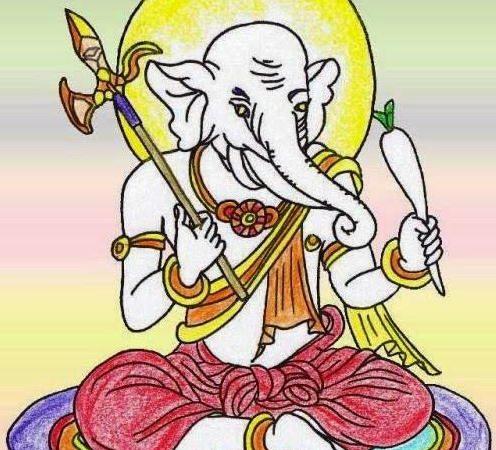 Lord Ganesha is Kangiten in Japan