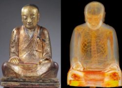 1000 Years Old Buddha Statue is a Mummified Monk !