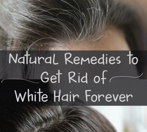 Grey Hair to Natural Color Permanently in 40 Days