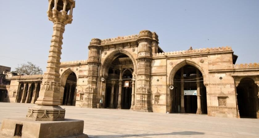 Jama Masjid in Ahmedabad was BhadraKali Temple