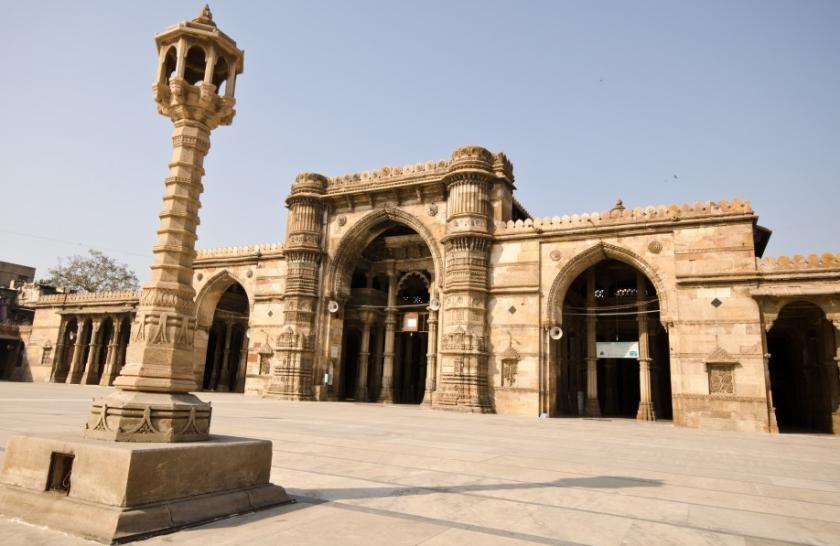 jama masjid in ahmedabad was bhadrakali temple archeology