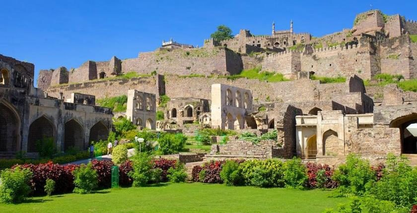 Golconda Fort, Originally Mangaladevi Temple, discovered in 1080 CE