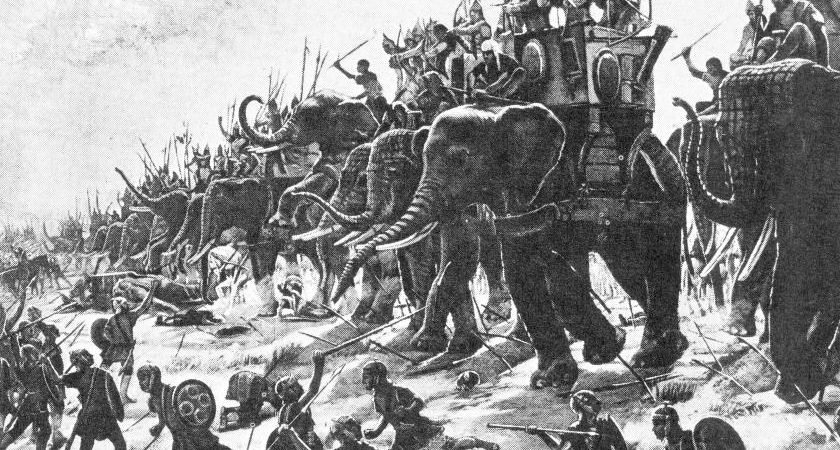 Samudra Gupta defeated Alexander in 326 BCE