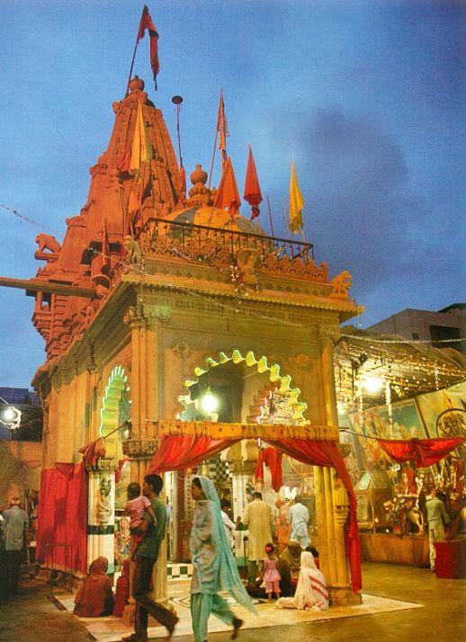 1500 year old Panchmukhi_Hanuman Mandir Karachi