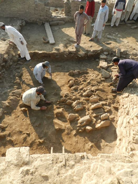 Barikot Ghundai Pakistan Hindu Temple Excavation