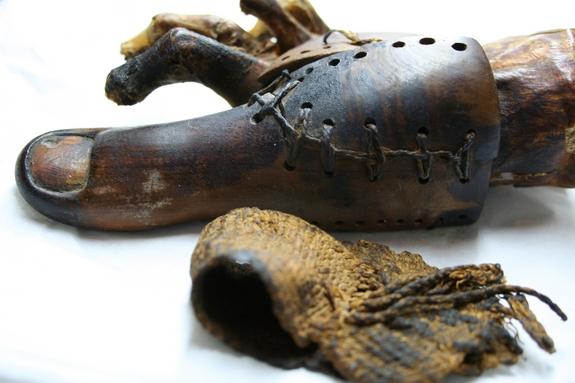 egyptian prosthetic toe