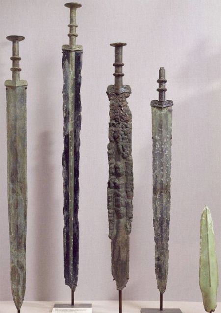 3000 years sword laozhoulin river china